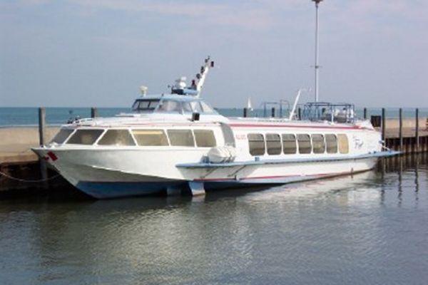 Aluminum Hydrofoil Fast Ferry Photo 1