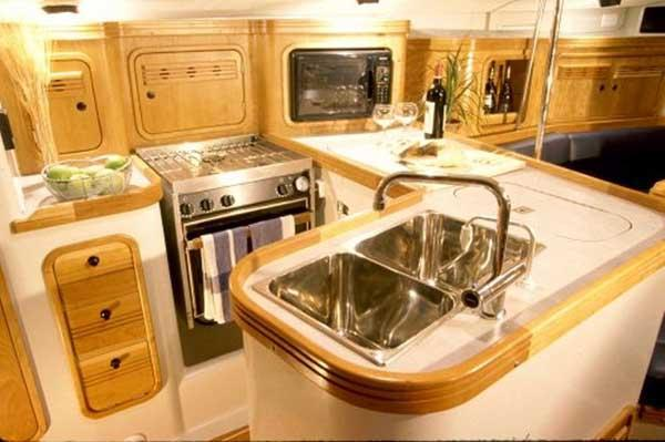Sister Ship: Galley