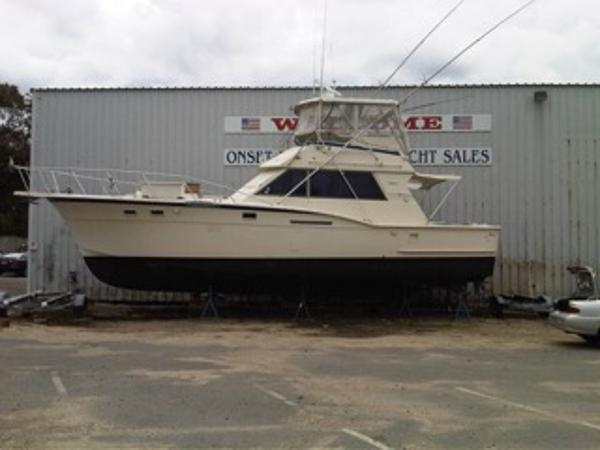 Hatteras 46 Convertible Profile