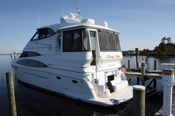 Carver 506 Motor Yacht Port Side