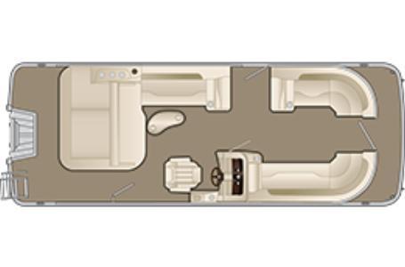 Bennington 23 SSBX - Swingback Premium (23SSBXP)