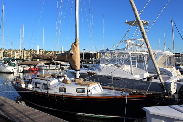 Bristol 29 Starboard exterior
