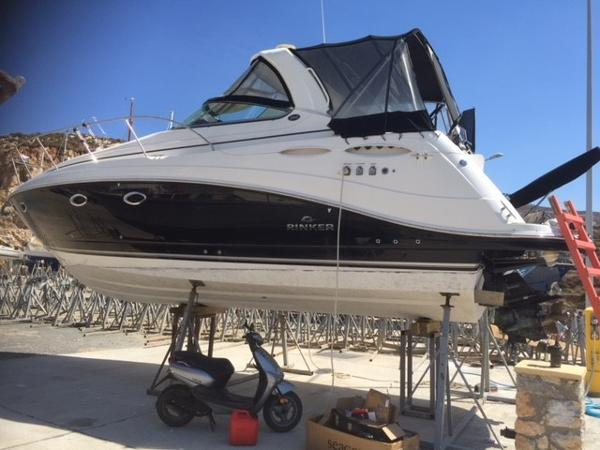 Rinker 350 Rinker Stored and maintained ashore when owner not using.