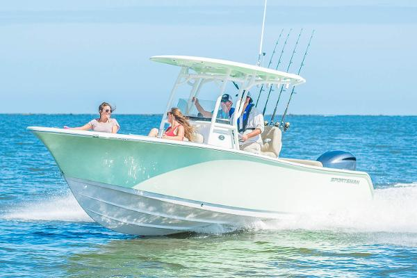 Sportsman Open 242 Center Console Manufacturer Provided Image