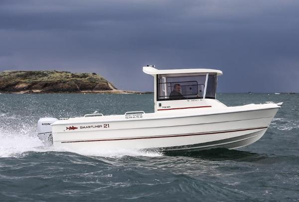 Smartliner Fisher 21 Powered up