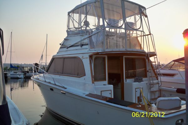 Egg Harbor Sportfish Port Stern Profile