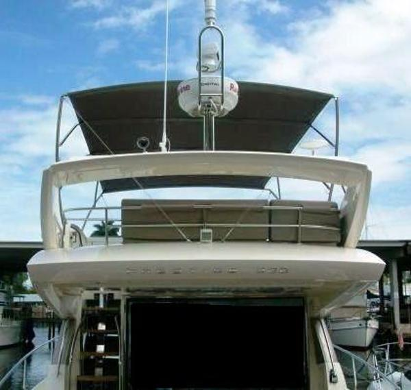 Flybridge Bimini / Raymarine Electronics Package