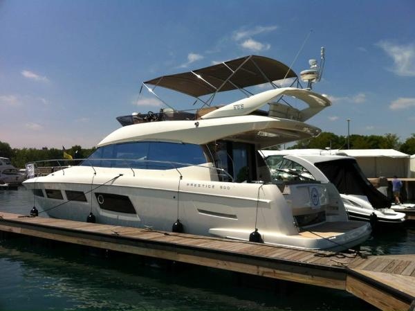 2014 Prestige 500 Flybridge In Stock