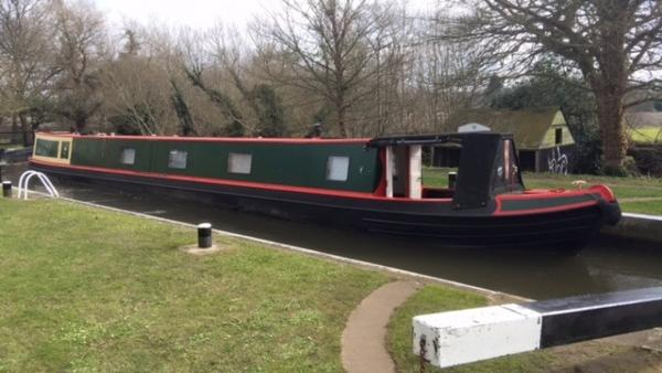 M.E.BRAINE NARROWBOAT