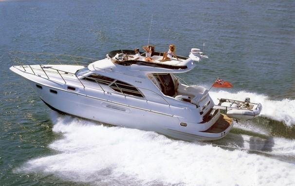 Sealine F43 Manufacturer Provided Image: F43 Flybridge