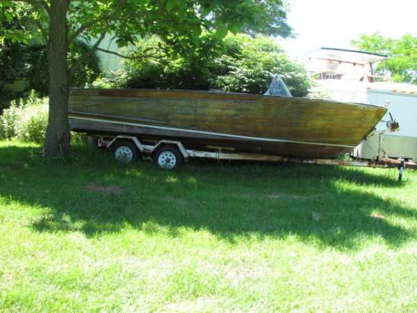 Mahogany Greavette Clipper/Project Boat Photo 1
