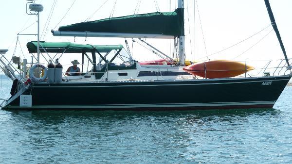 Canadian Sailcraft Merlin 36