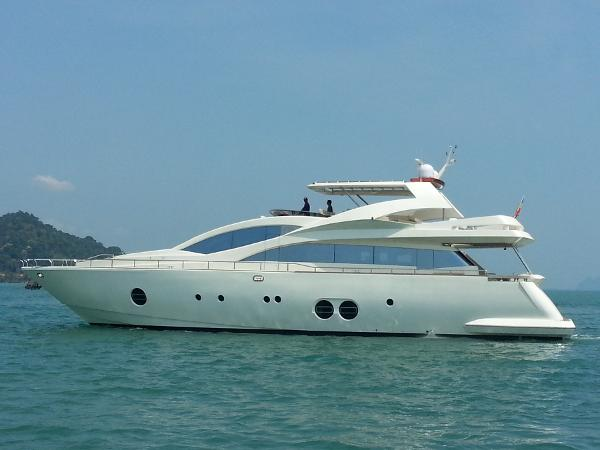 Aicon 85 Flybridge