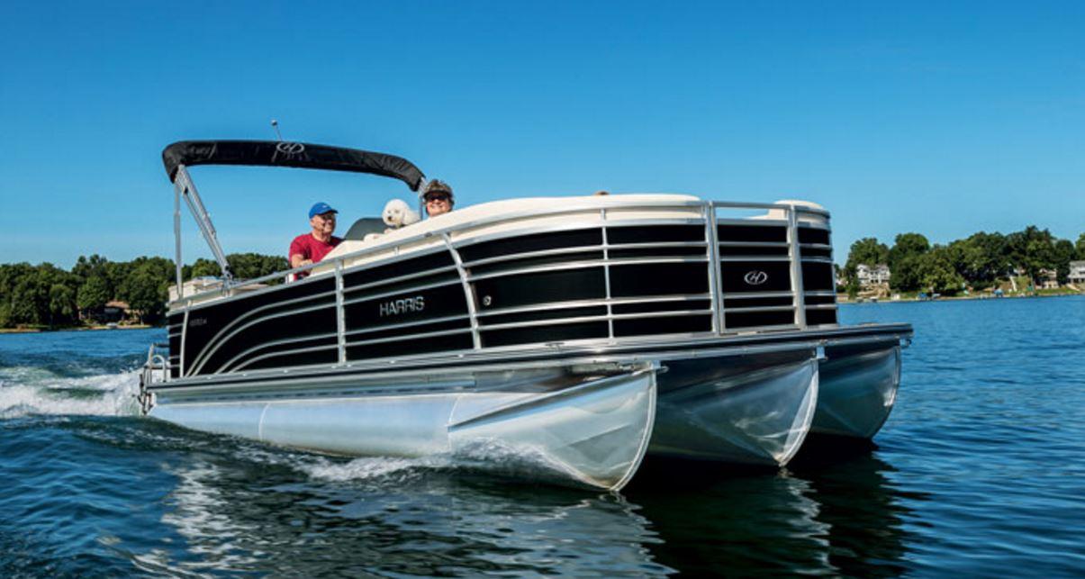 Harris Flotebote Solstice 220 CWDH - Tritoon