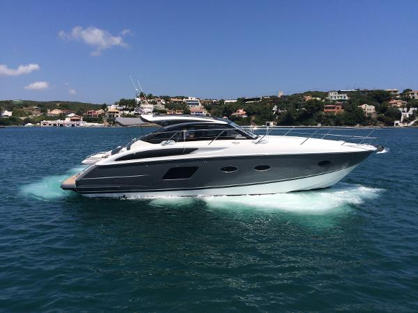 Princess V39 Used Princess V39 for sale in Menorca - Clearwater Marine