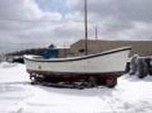 Fiberglass Utility Boat Photo 1