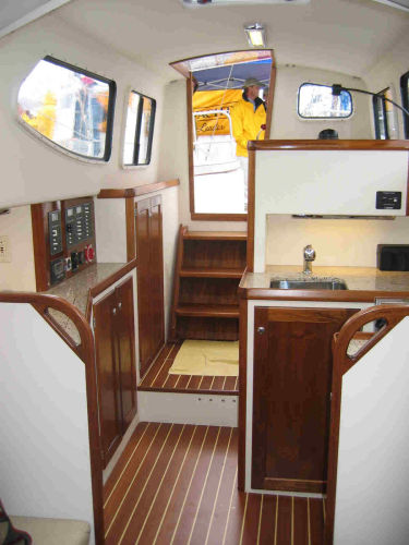 Main cabin looking aft