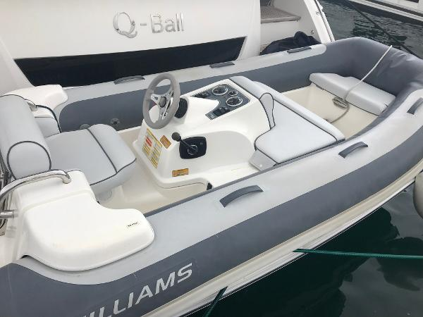Williams Jet Tenders 325 TURBOJET Used Williams 325 Turbojet for sale in Menorca - Clearwater Marine
