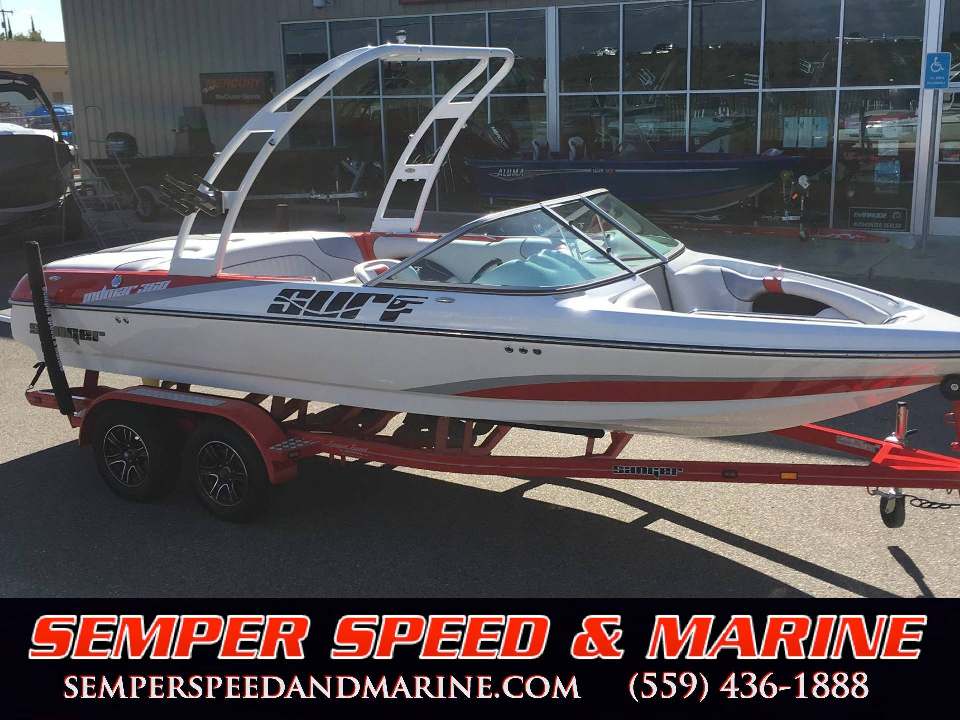 Sanger Boats V215 Surf
