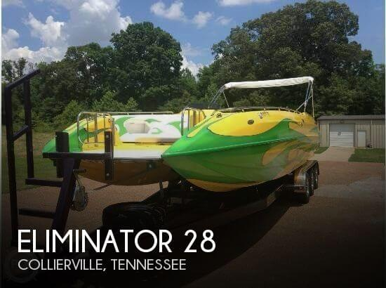 Eliminator Boats Daytona 28 2004 Eliminator 28 for sale in Collierville, TN