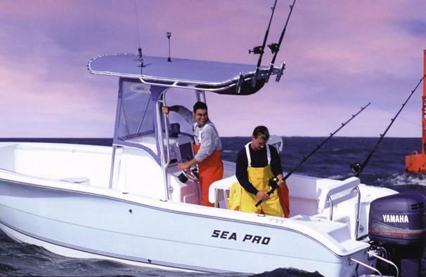 Sea Pro 220 Center Console Manufacturer Provided Image