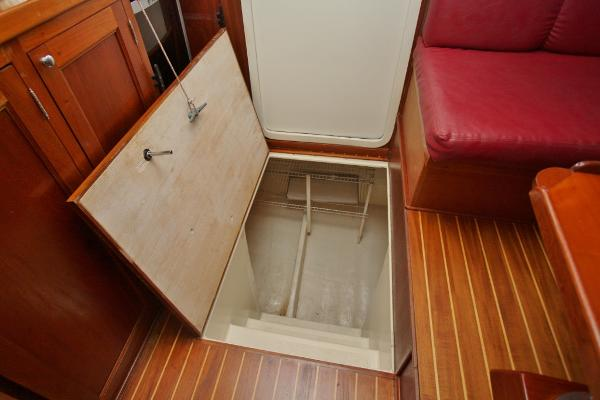 Hatch to Boatswain's Locker