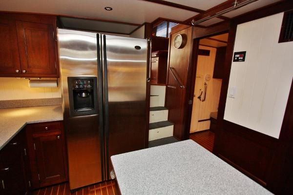 Galley Facing Aft