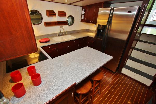 Galley Breakfast Bar