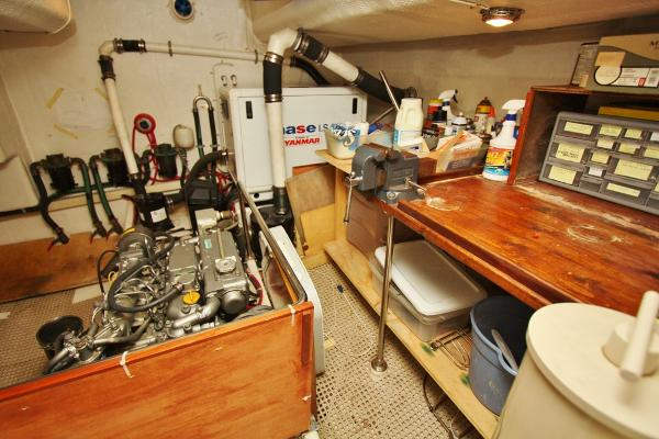 Engine Room with Workbench
