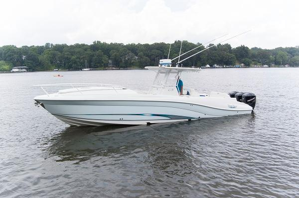 Deep Impact 36 Sport Cabin Port Side