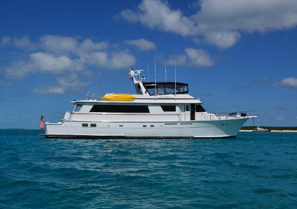 Hatteras 80 Motor Yacht Free Spirit