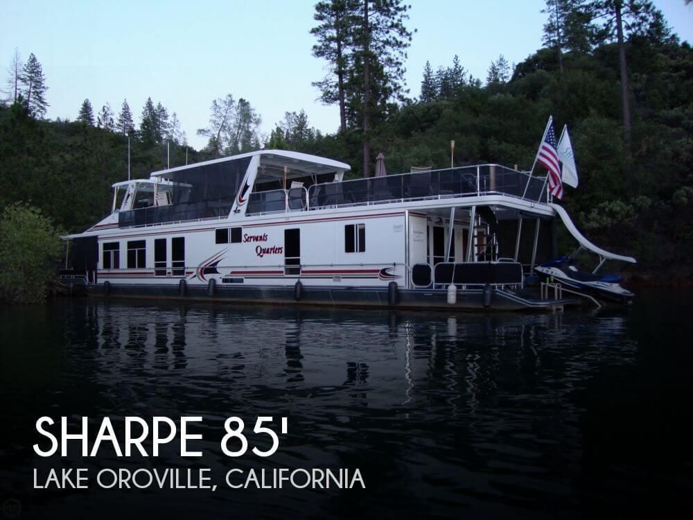 Sharpe 84 foot Houseboat 2006 Sharpe 84 foot Houseboat for sale in Lake Oroville, CA