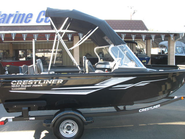 Crestliner 1650 Super Hawk - 115HP