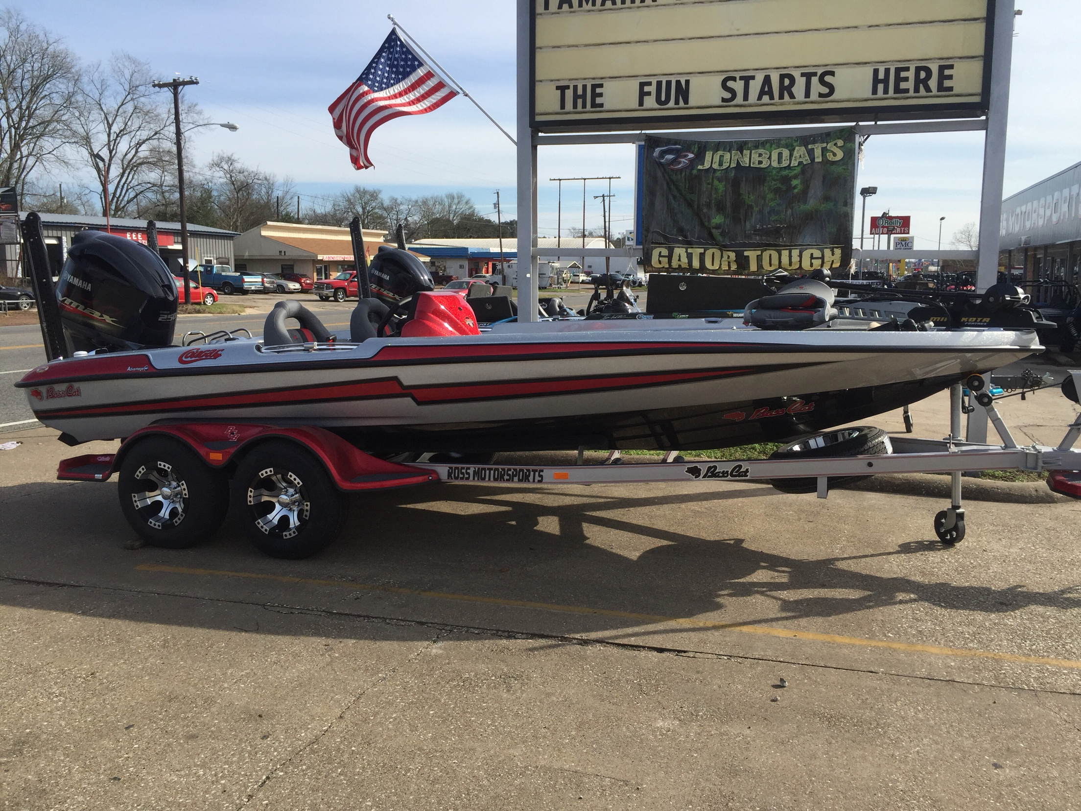 Bass Cat Boats COUGAR SP
