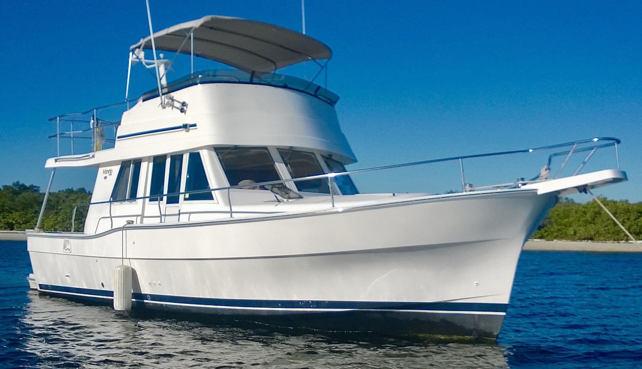 Mainship 390 Single Sandollars
