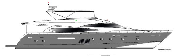 Grand Harbour Motor Yacht 88'