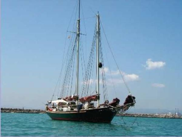 Custom Steel Gaff Rigged Schooner 50