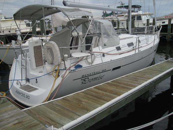 """Beneteau 343 Beneteau 343 - """"Promise"""" Starboard Side"""