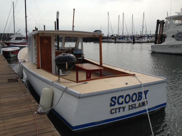 Downeast Lobster Picnic Boat  - Lobster Boat  40' Downeast East Lobster Boat For Sale $29,500.
