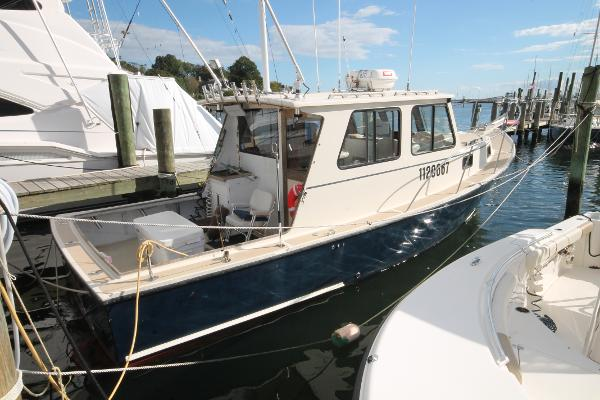 Seaworthy 32' Lobster Boat Port Stern