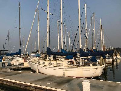 Allied Seawind Ketch Port Side