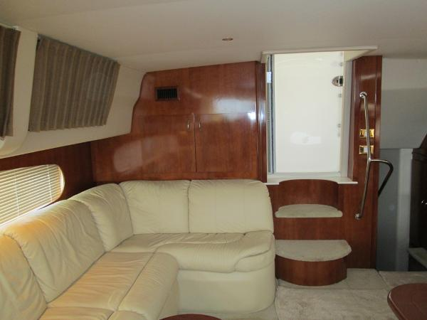 Salon looking Aft and Starboard.