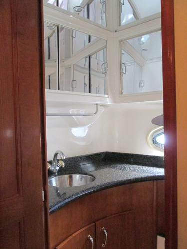 Aft Stateroom - Separate Head with Enclosed Shower Stall