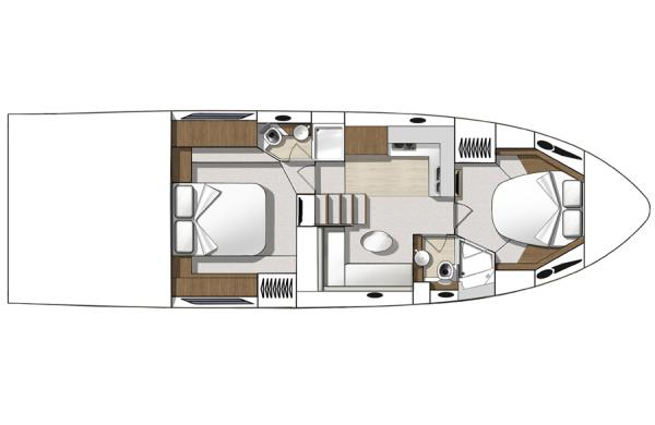 Two Cabin Layout