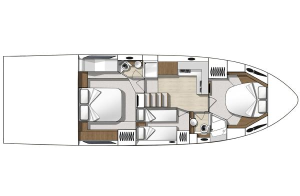 Three Cabin Layout