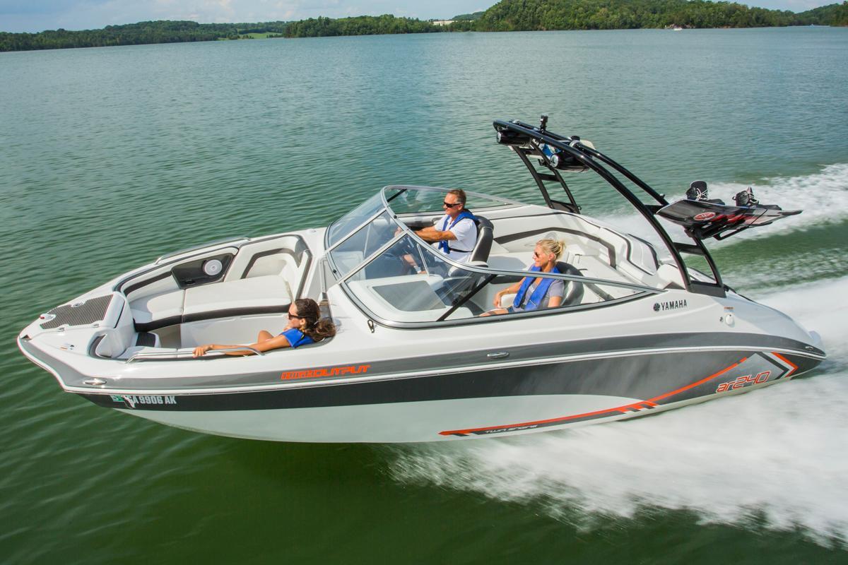 Yamaha ar240 ho boats for sale for Yamaha motor boats for sale
