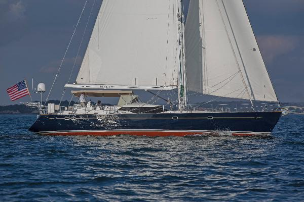 Oyster 66 Under Sail 5