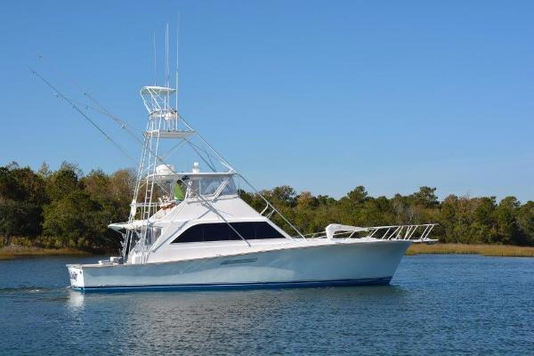 Ocean Yachts 55 Super Sport Starboard Profile