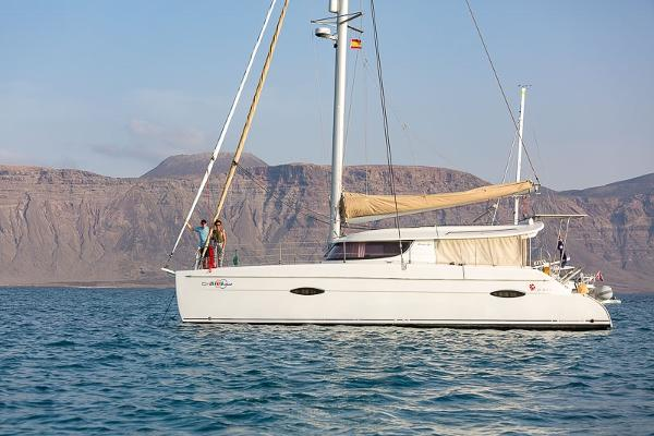 Fountaine Pajot Lipari 41 At Anchor