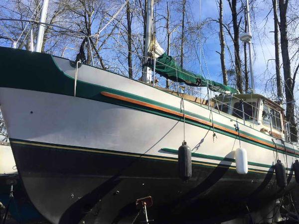 Sailboat Banjer Ketch Motorsailer